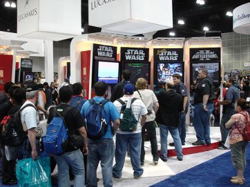 Star_Wars_Celebration_IV_-_Lucasarts_video_games_booth_(4878878508)